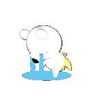 みかん大好き shozEEの白くま 被り物みかん(個別スタンプ:29)