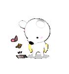 みかん大好き shozEEの白くま 被り物みかん(個別スタンプ:30)