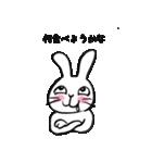 のんびりウサギ