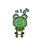 チャーミングなカエルちゃん(個別スタンプ:10)