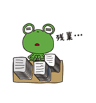 チャーミングなカエルちゃん(個別スタンプ:24)