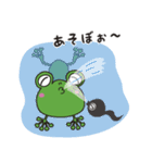 チャーミングなカエルちゃん(個別スタンプ:28)