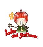 りんご姫の日常(個別スタンプ:5)