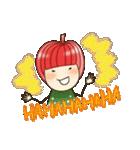 りんご姫の日常(個別スタンプ:9)