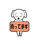 眉毛犬シロ(個別スタンプ:18)