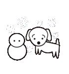 眉毛犬シロ(個別スタンプ:40)