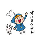 Do your best. Witch hood 8(個別スタンプ:02)