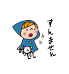 Do your best. Witch hood 8(個別スタンプ:25)