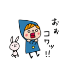 Do your best. Witch hood 8(個別スタンプ:36)
