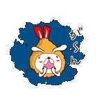 うさぎ+えび+フライ=恋するエビフライ(個別スタンプ:20)