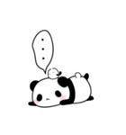 ふんわりパンダとシマエナガ(個別スタンプ:05)