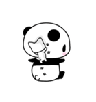 ふんわりパンダとシマエナガ(個別スタンプ:16)
