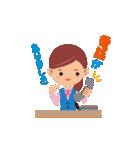 働く女性の会話&業務連絡スタンプ(個別スタンプ:2)