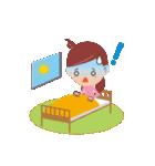 働く女性の会話&業務連絡スタンプ(個別スタンプ:10)