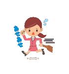 働く女性の会話&業務連絡スタンプ(個別スタンプ:16)