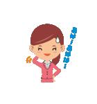 働く女性の会話&業務連絡スタンプ(個別スタンプ:25)