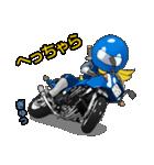 青いライダー(個別スタンプ:20)