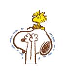スヌーピー&ウッドストック(個別スタンプ:07)