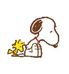スヌーピー&ウッドストック(個別スタンプ:11)