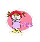 ずきんちゃんの日常(個別スタンプ:01)
