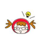 ずきんちゃんの日常(個別スタンプ:04)