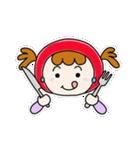 ずきんちゃんの日常(個別スタンプ:11)