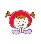 ずきんちゃんの日常(個別スタンプ:12)