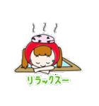 ずきんちゃんの日常(個別スタンプ:18)
