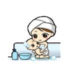 ママと赤ちゃんの育児スタンプ