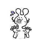 ウサギとネズミのハーフ(個別スタンプ:5)