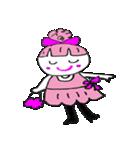 ピンクの好きなかわいい女の子♡(個別スタンプ:05)