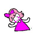 ピンクの好きなかわいい女の子♡(個別スタンプ:08)