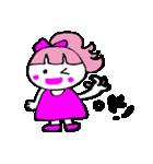 ピンクの好きなかわいい女の子♡(個別スタンプ:12)