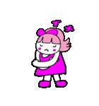 ピンクの好きなかわいい女の子♡(個別スタンプ:15)