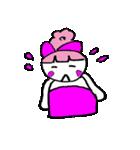 ピンクの好きなかわいい女の子♡(個別スタンプ:17)