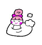 ピンクの好きなかわいい女の子♡(個別スタンプ:20)