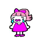 ピンクの好きなかわいい女の子♡(個別スタンプ:26)