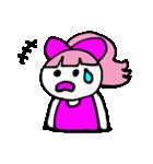 ピンクの好きなかわいい女の子♡(個別スタンプ:27)