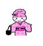 ピンクの好きなかわいい女の子♡(個別スタンプ:28)