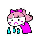 ピンクの好きなかわいい女の子♡(個別スタンプ:38)