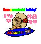 Hawaiian Family Vol.3 Alohaなお正月(個別スタンプ:04)