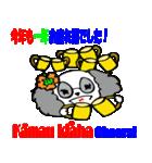 Hawaiian Family Vol.3 Alohaなお正月(個別スタンプ:09)