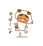 いぬふくとあんころん(個別スタンプ:09)