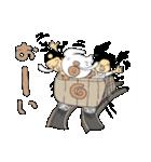 クレープロール犬(個別スタンプ:12)