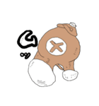 クレープロール犬(個別スタンプ:23)