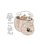 クレープロール犬(個別スタンプ:25)