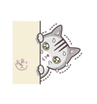 ペルシャ猫こゆき(寒い日常会話)(個別スタンプ:01)