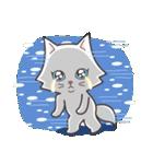 ペルシャ猫こゆき(寒い日常会話)(個別スタンプ:05)