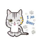 ペルシャ猫こゆき(寒い日常会話)(個別スタンプ:11)