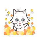 ペルシャ猫こゆき(寒い日常会話)(個別スタンプ:17)
